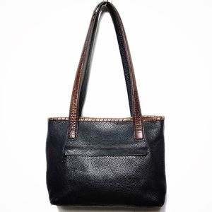 BRIGHTON MINI LEATHER TOTE